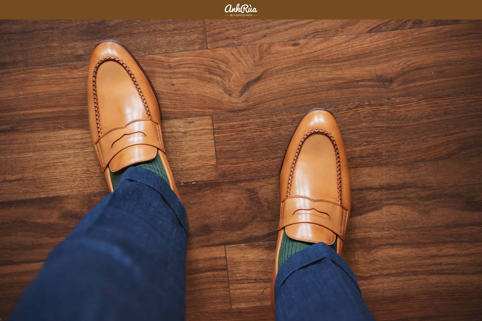 Last Robert tan penny loafers Carmina