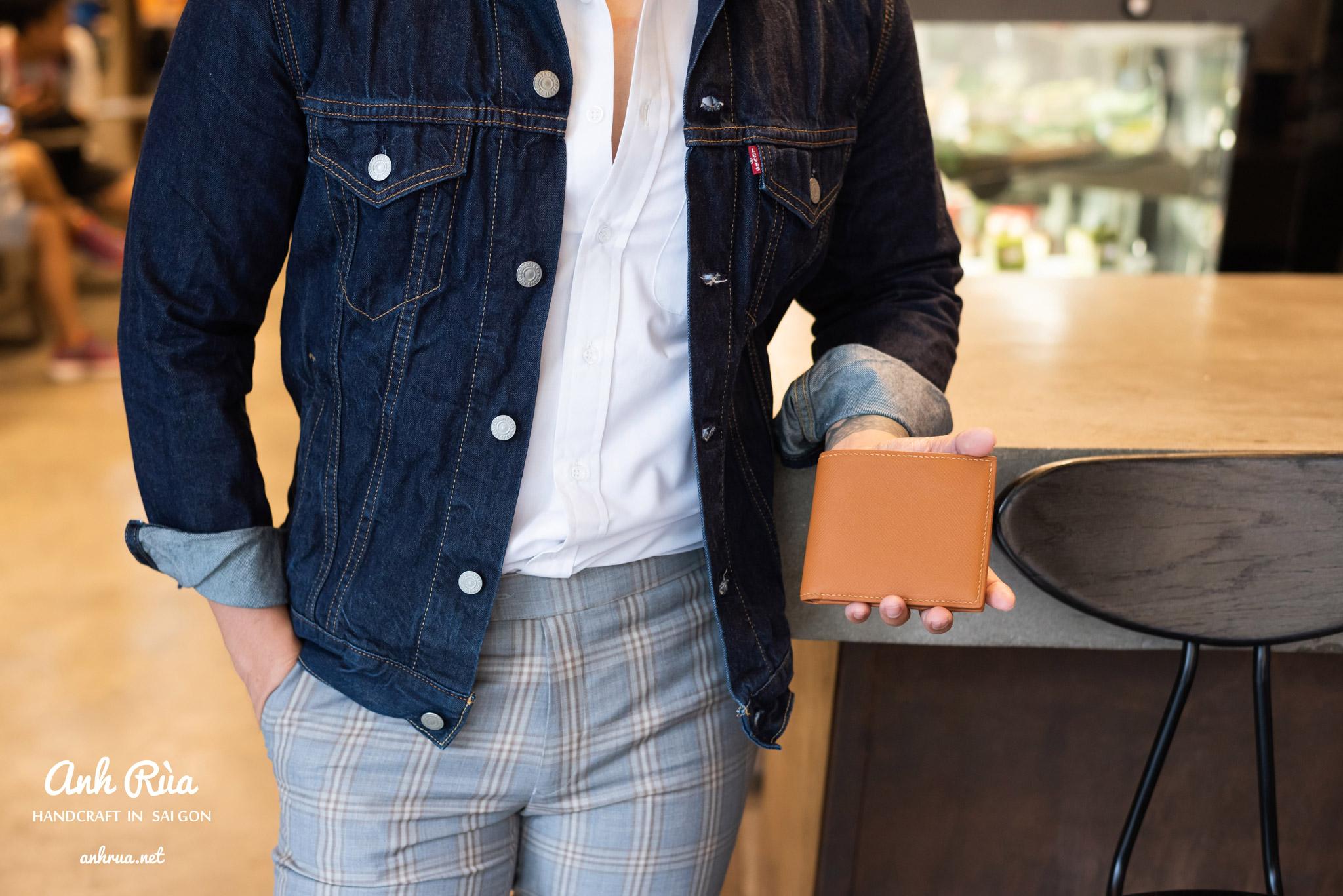 phối giày tây nam với denim jacket