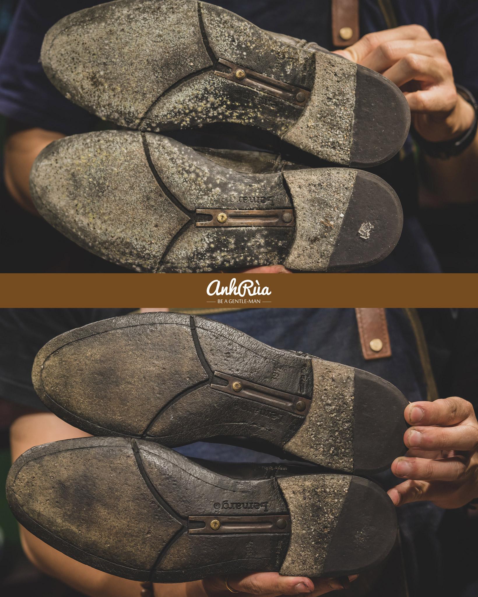 Spa chữa mốc giày