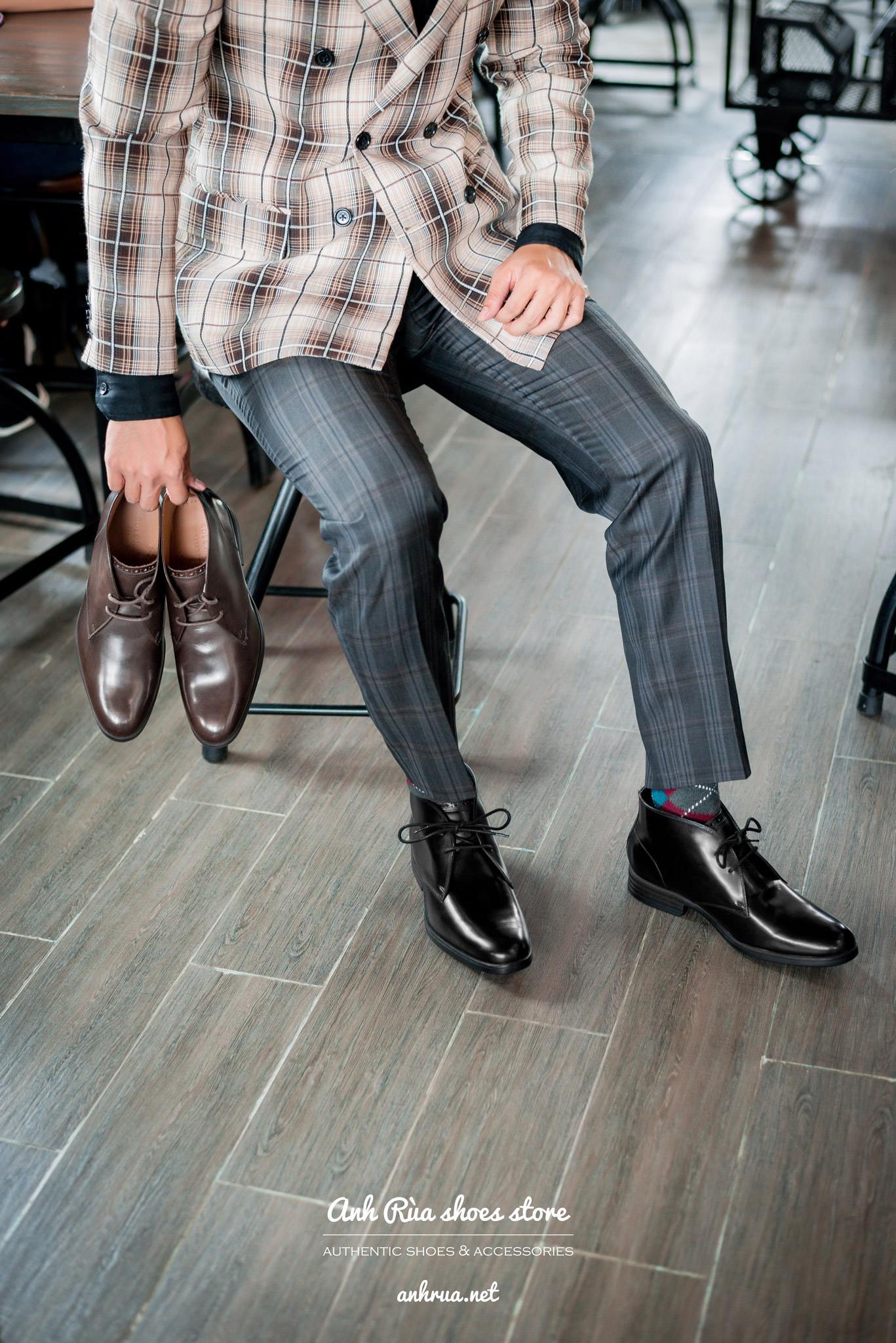 Chukkas smooth leather