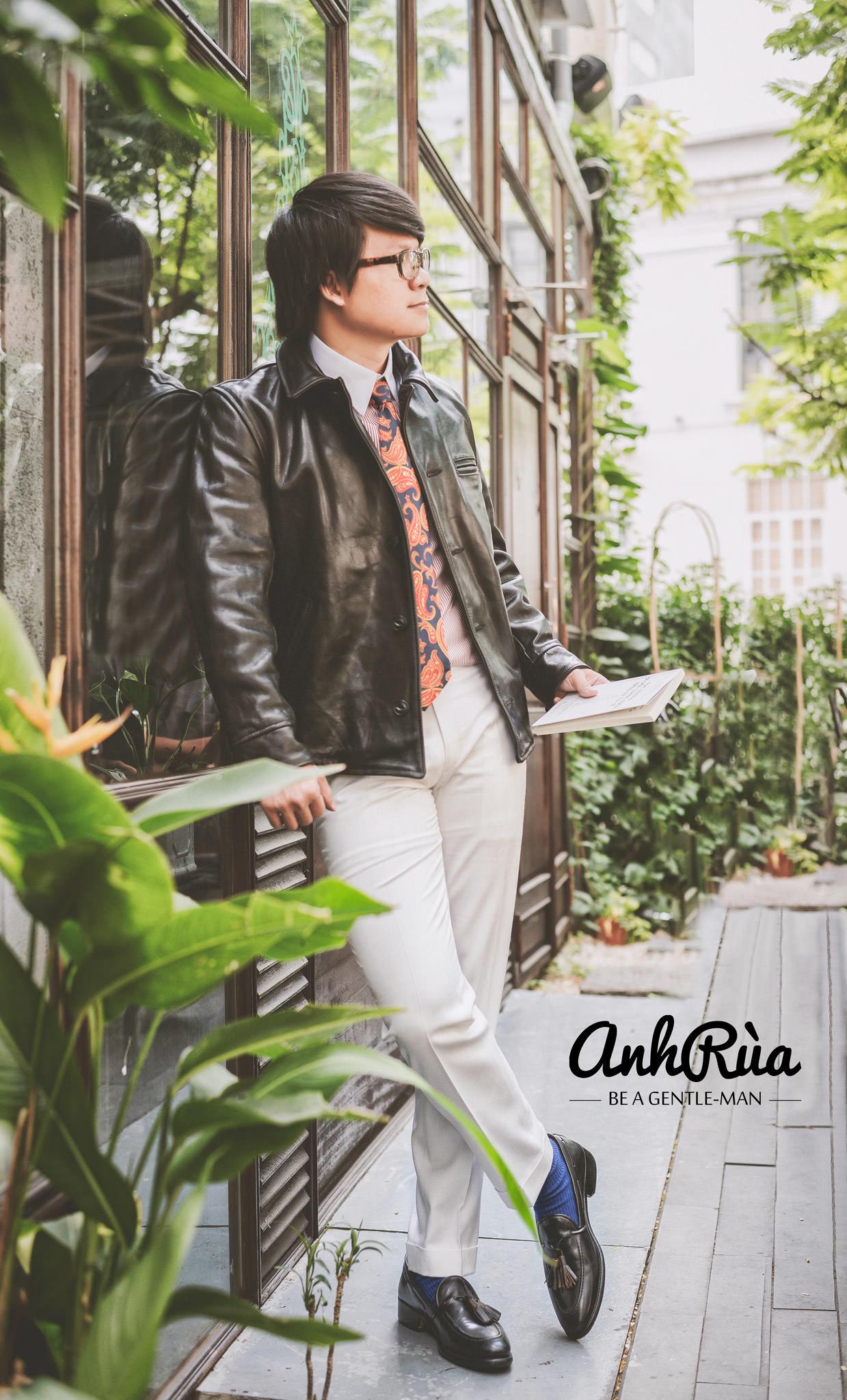 Định hướng Anh Rùa leather jacket