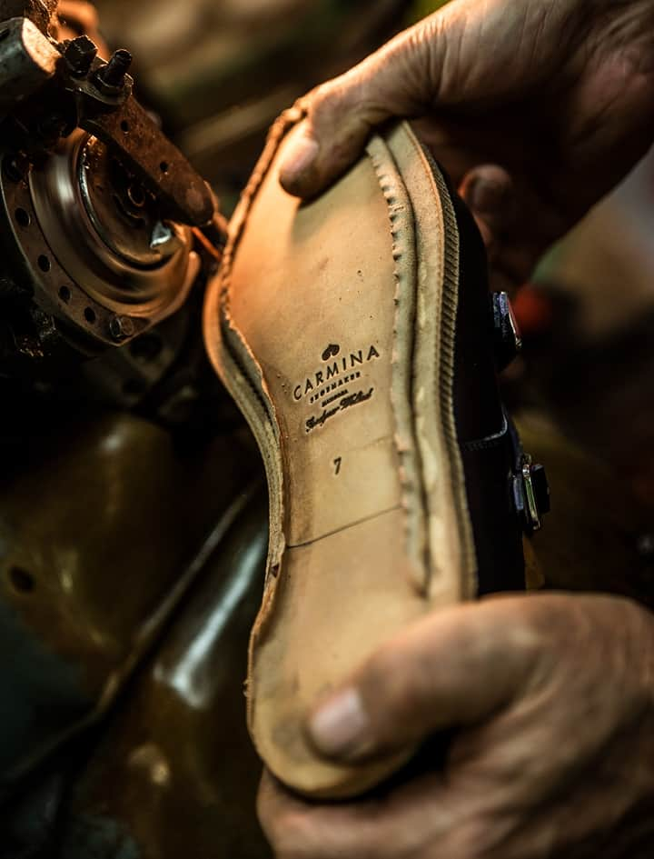 Goodyear welt outsole