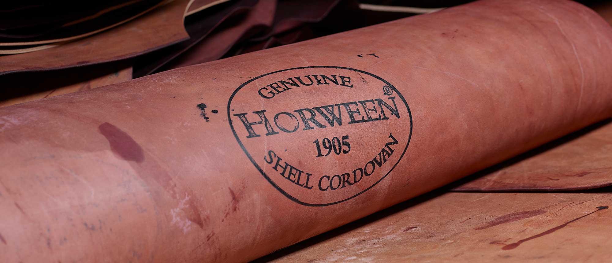 Horween shell cordovan