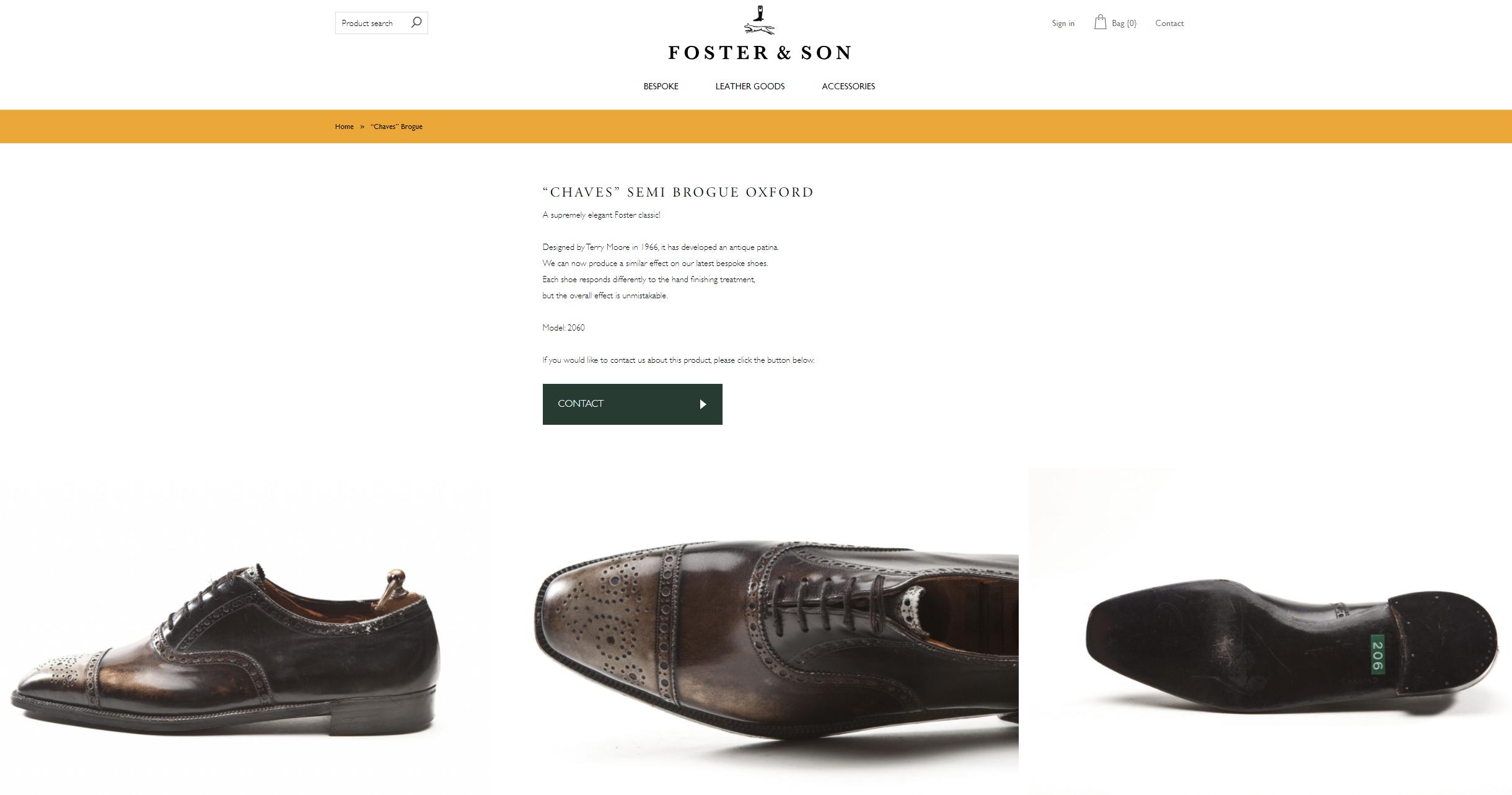 Bespoke Foster & Son