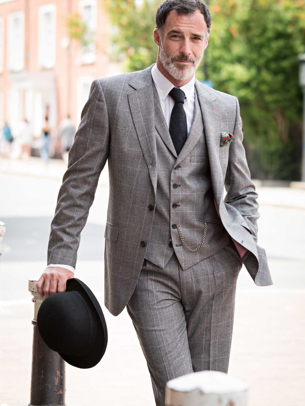he Prince of Wales three piece suit