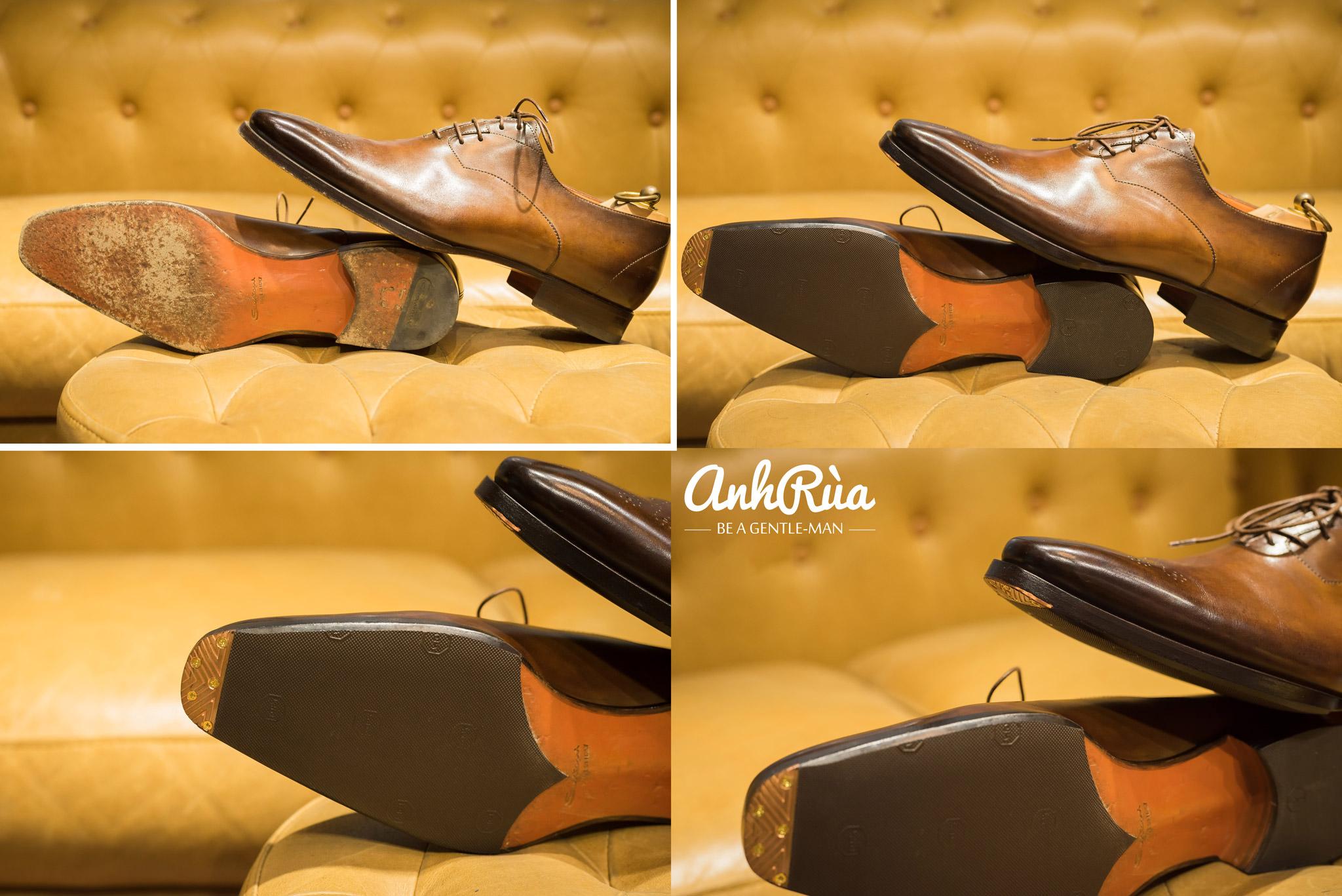 Toe tap và dán đế cho giày