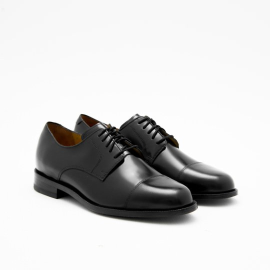 Black Captoe Derby Cole Haan