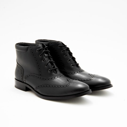 Black Dress boots Brogues Cole Haan