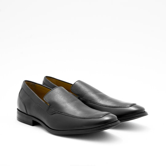 Black Moc-toe Loafers Cole Haan