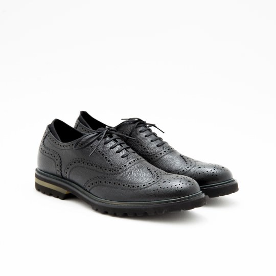 Black Oxfords Full Brogues KCNY