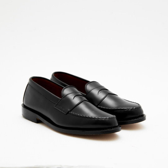 Black Penny Loafers Allen Edmonds