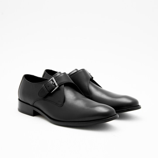 Black Single Monkstrap Cole Haan