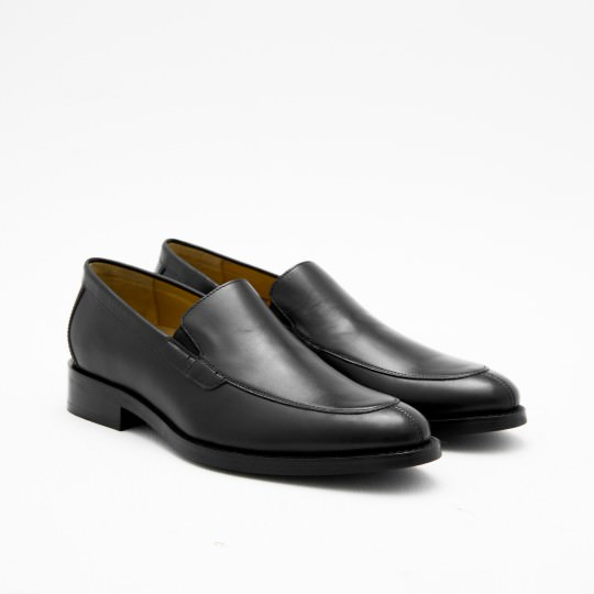 Black Splittoe Loafers Cole Haan