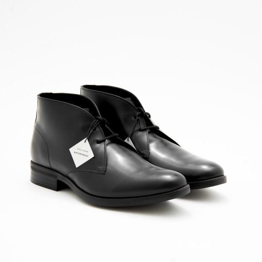 Giày Bốt Nam Black Waterproof Chukkas Cole Haan