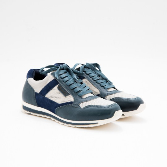 Blue Sneakers KCNY