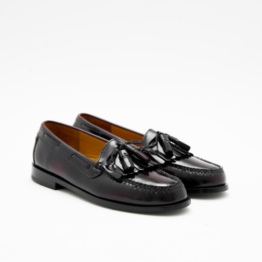 Bordeaux Tassels Kilties Loafers Cole Haan