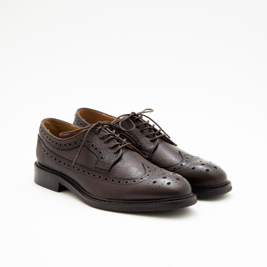 Dark Brown Derby Longwing Full Brogues ALDO