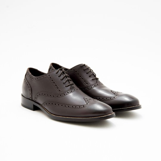 Dark Brown Oxford Blind Brogues Cole Haan
