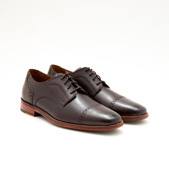 Dark Brown Quarter Brogues Cole Haan