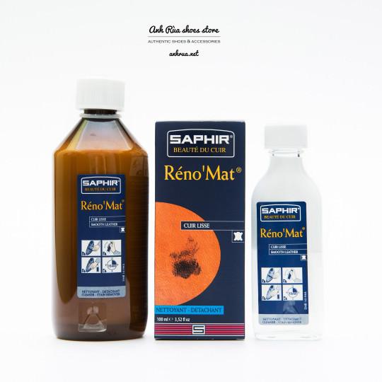 Dung dịch làm sạch da trơn chuyên sâu Réno'Mat Saphir 100ml 500ml