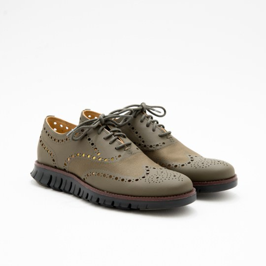 Dark Green ZeroGrand Full Brogues Cole Haan
