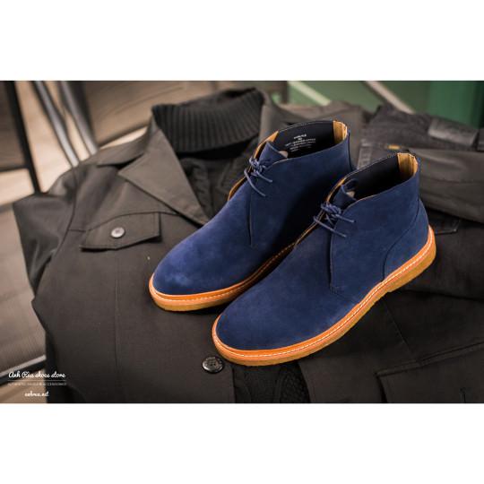 Giày Bốt Nam Suede Navy Desert Boots Polo Ralph Lauren