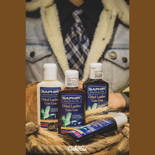 Kem dưỡng và phục hồi màu cho da dầu Oiled Leather Saphir BDC 125ml