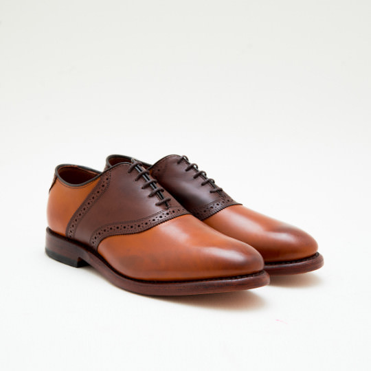 Light Brown - Medium Brown Saddles Allen Edmonds
