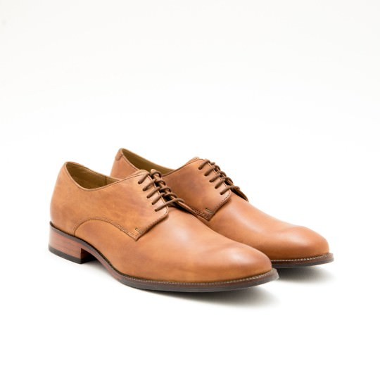 Camel Plain-toe Derby Cole Haan
