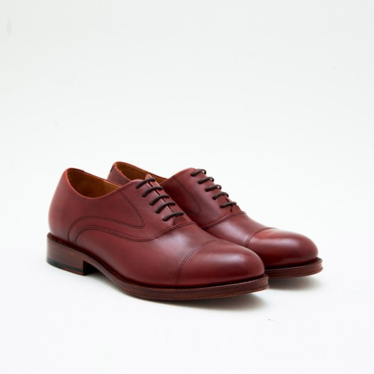 Mahogany Captoe Oxfords Mr. B's for ALDO