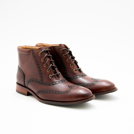Mahogany Dress boots Brogues Cole Haan