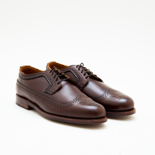 Giày Tây Nam Medium Brown Full Brogues Derby Cole Haan