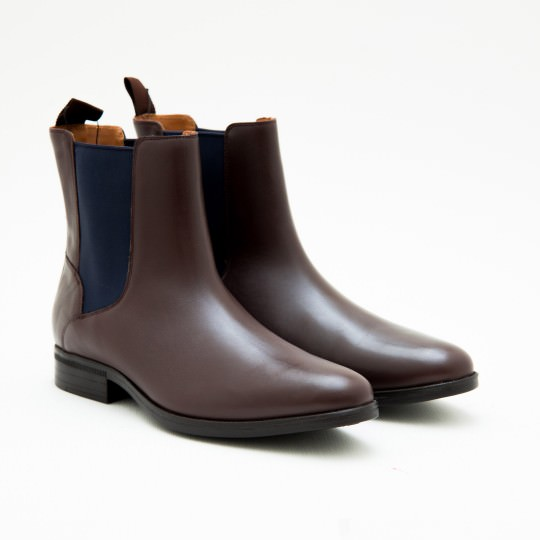 Giày Bốt Nam Medium Brown Waterproof Chelsea Cole Haan