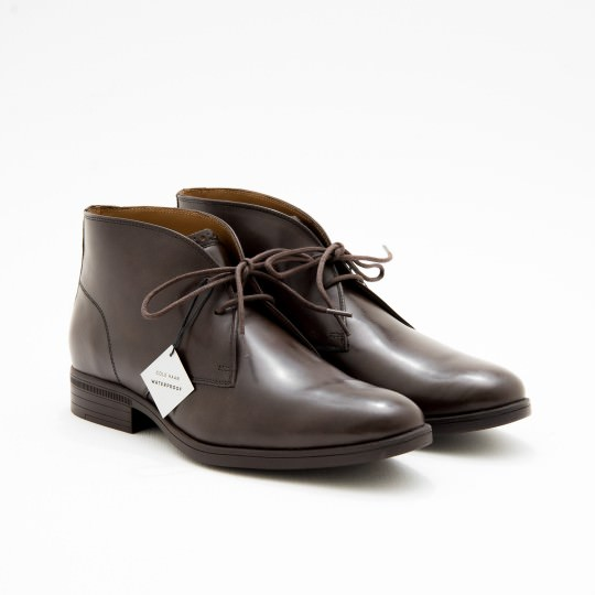 Medium Brown Waterproof Chukkas Cole Haan