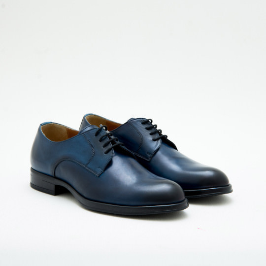 Navy Plaintoe Derby KCNY