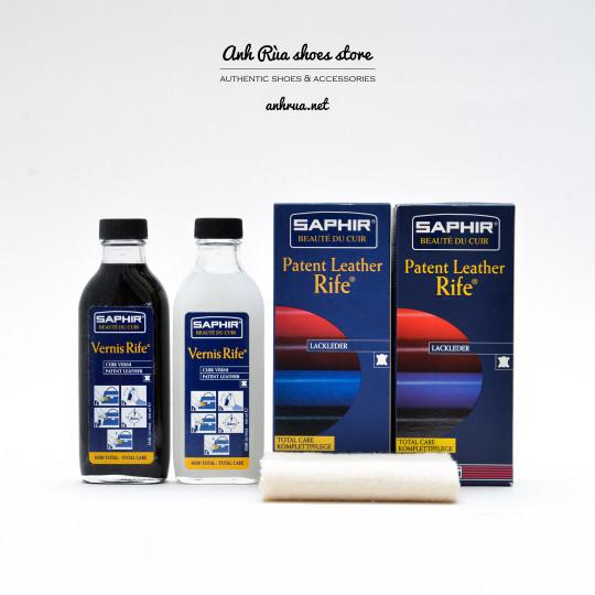 Nước dưỡng da bóng Saphir Patent Leather Vernis Rife