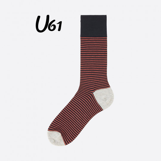 Red Line Socks Uniqlo