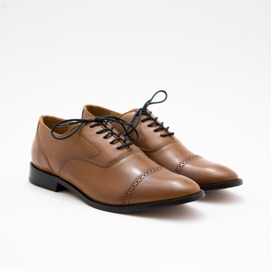 Tan Quarter Brogues BASS